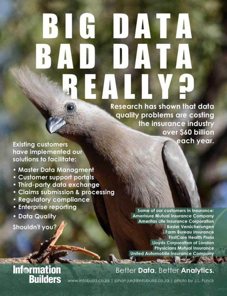 Bid Data Bad Data Really?